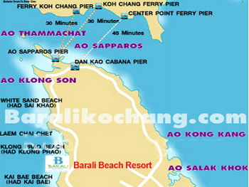 Thailand, Koh Chang, Barali Beach Resort and Spa