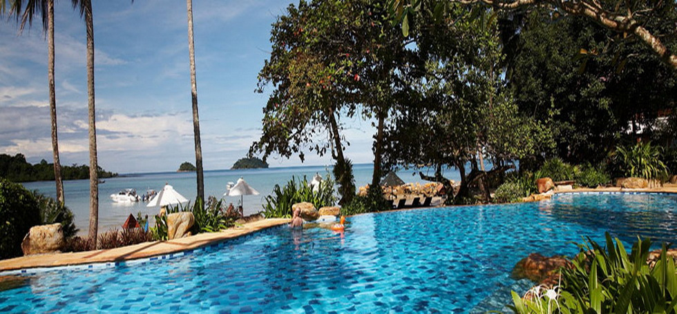 Thailand, Koh Chang отель Sea View Resort and Spa Koh Chang