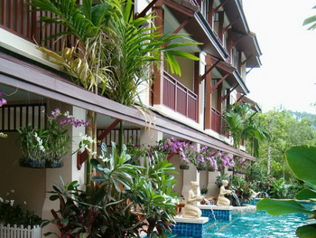 Thailand, Phuket, Kata Palm Resort and Spa