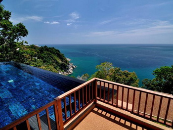 Thailand, Phuket, Paresa Resorts